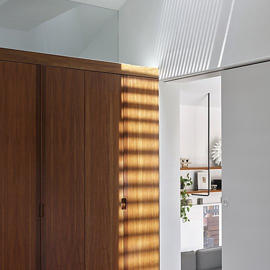 Interior photograph of Three House by Toby Scott