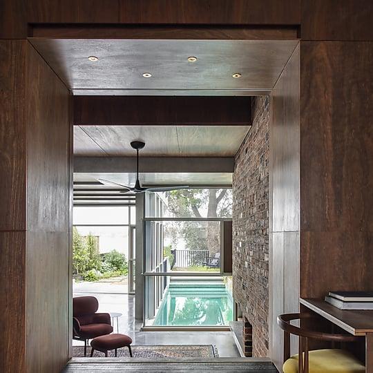 Interior photograph of Birchgrove House by Nicole England