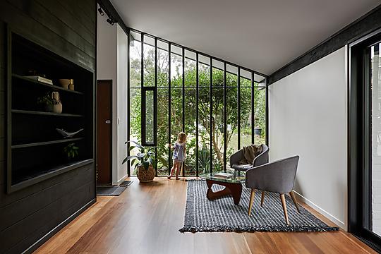 Interior photograph of Pettit+Sevitt MKII by Andy Macpherson