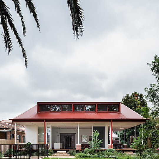 Interior photograph of Dulwich Hill House by Katherine Lu