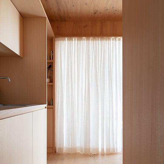 Interior photograph of Minima by Clinton Weaver