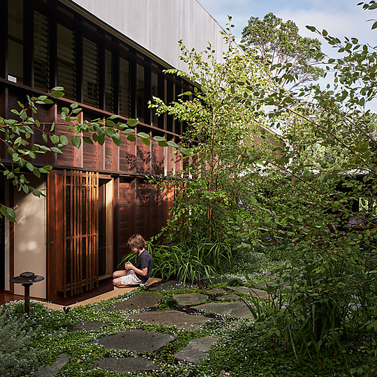 Interior photograph of Y3 Garden by Andy Macpherson