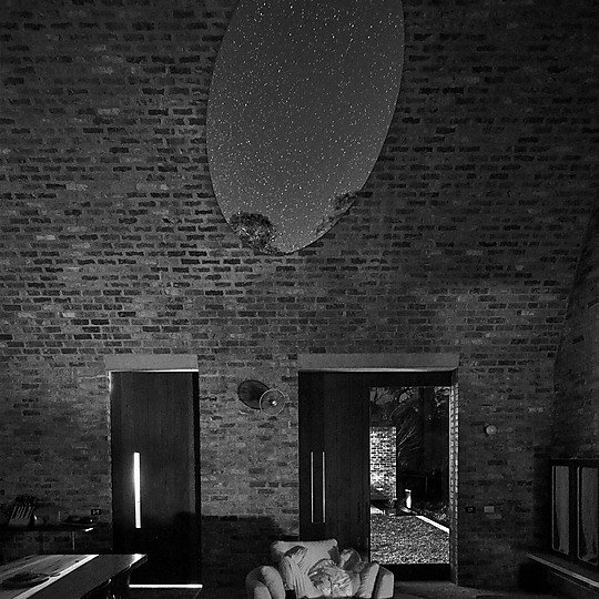 Interior photograph of Night Sky by Michael Nicholson