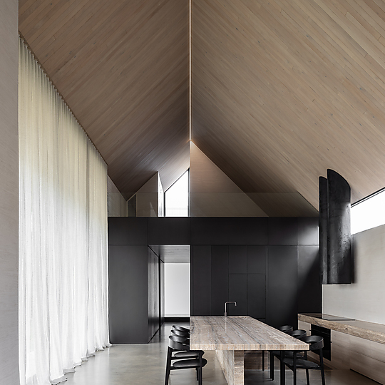 Interior photograph of Barwon Heads House by Timothy Kaye