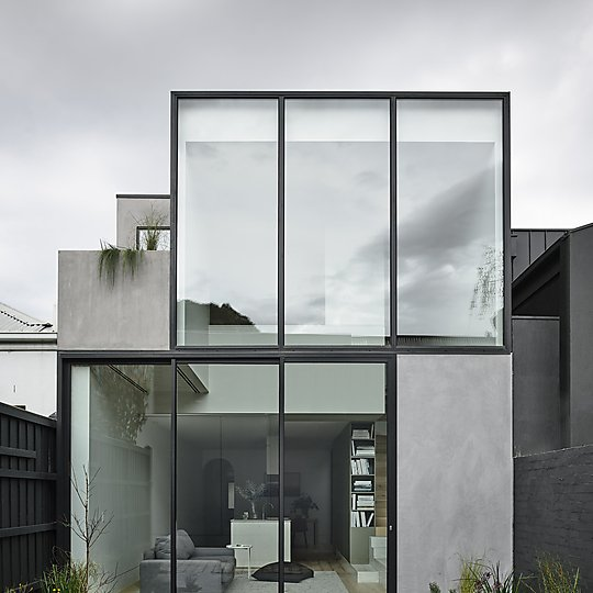 Interior photograph of South Yarra House by Derek Swalwell