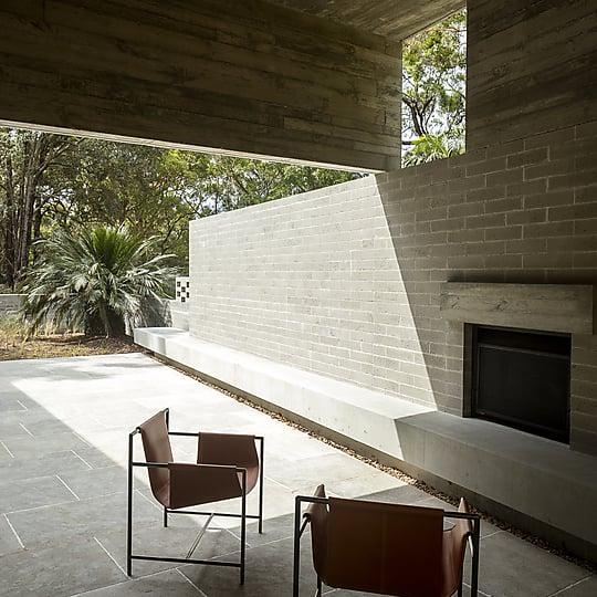 Interior photograph of Pearl Beach House by Brett Boardman